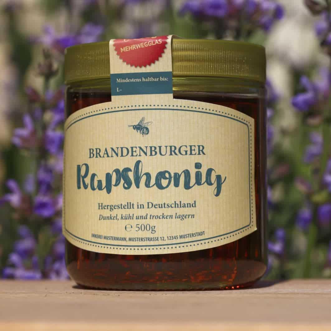 Etiketten für deinen Honig
