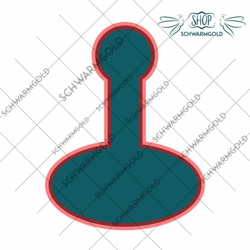 Kundendesign Honigetikett 500g oval