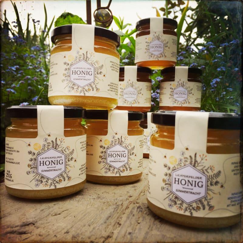 BeeStipy – stilvolles Etikett für Honig von SCHWARMGOLD